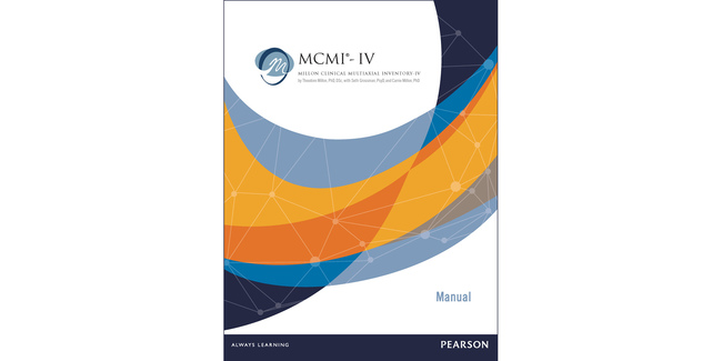 MCMI-IV Millon Clinical Multiaxial Inventory-IV